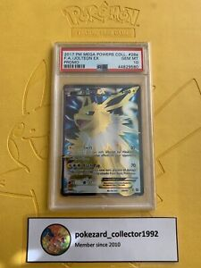 2017 Pokemon Mega Powers Collection Promo JOLTEON EX Alternate 28a/83 PSA 10