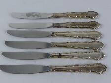 (Ref165CA) Vintage Community Plate Silver Plated Large Table Knives Cutlery