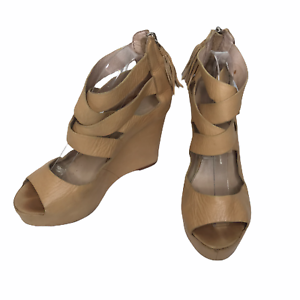 Dolce Vita Shoes | Dolce Vita Leather Nude Tan Perforated