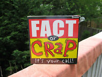 Fact Or Crap its Your Call Adult Party Game 2006 & Factory Sealed