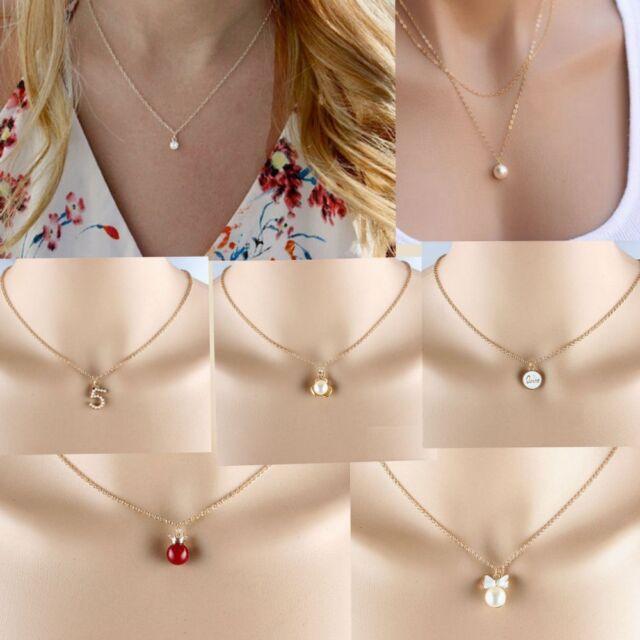 New Women Choker Charm Chain Pendant Statement Necklace Fashion Jewelry