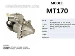New-starter-motor-suits-Kubota-tractors-B1700-B2100-B2400-B7410-B7500-B7510