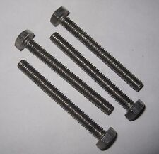 "2BA x 1 3/4"" Hex Set Screw - Stainless (Qty 4)"