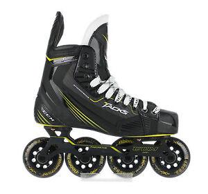 ccm tacks inline roller hockey skates senior size ebay. Black Bedroom Furniture Sets. Home Design Ideas