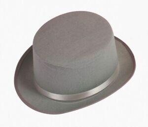 Slash Steampunk Victorian Charles Dickens Top Hat Felt Short Topper Costume