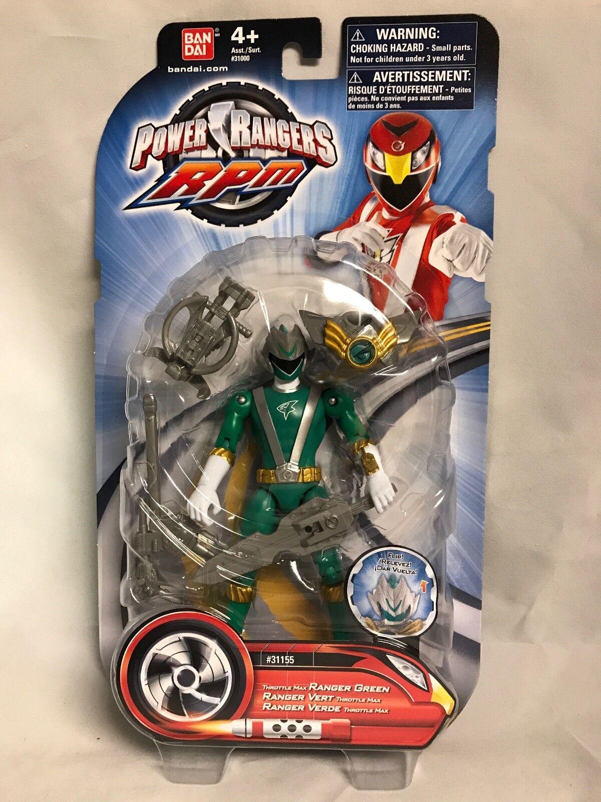 Bandai Power Rangers RPM Thredtle Max GREEN Action Figure - Sealed