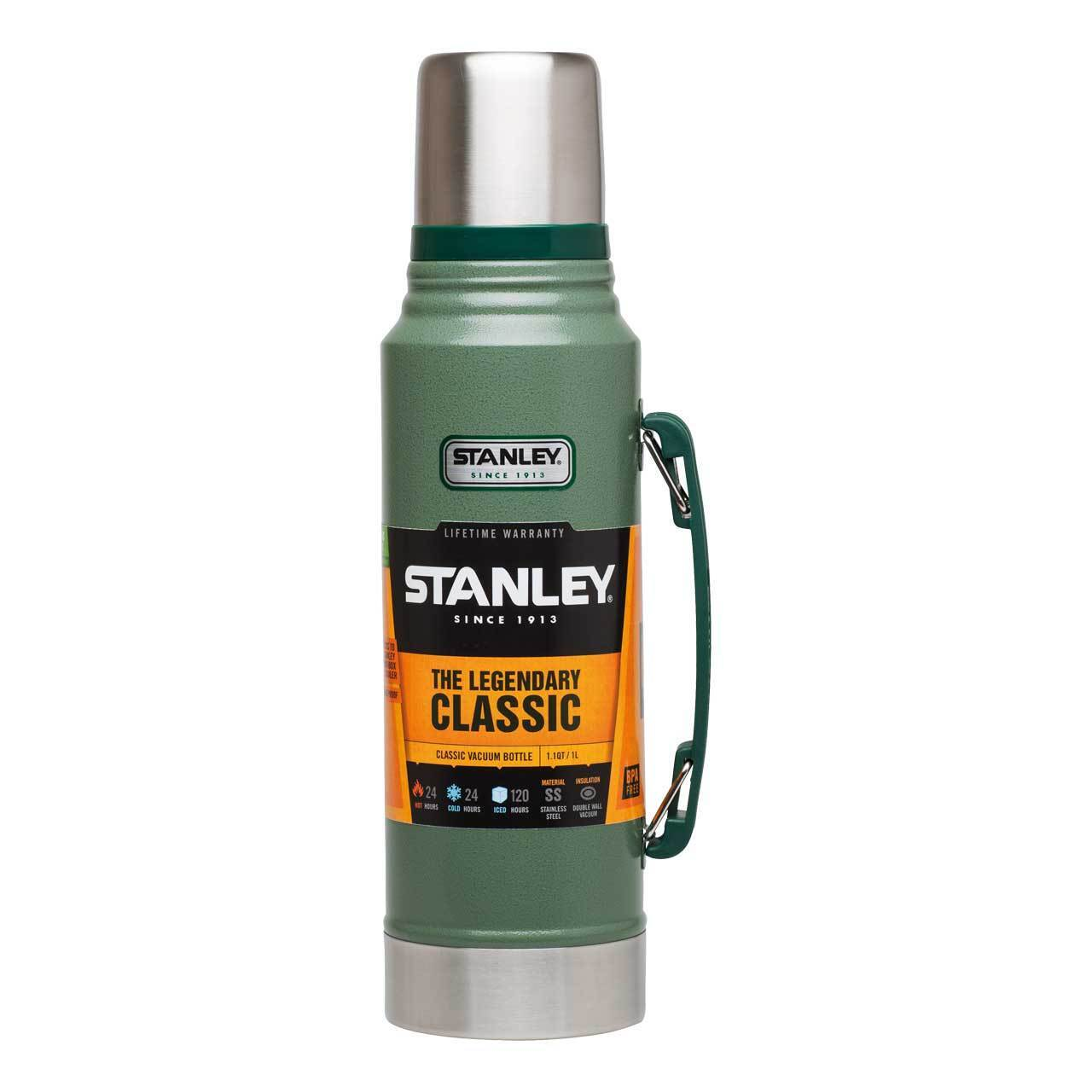 Stanley Classic 1 Litre Vacuum Bottle Outdoor Camping Thermos