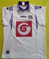 4.5/5 ANDERLECHT BELGIUM 1996~1997 FOOTBALL SHIRT JERSEY HOME ADIDAS ORIGINAL