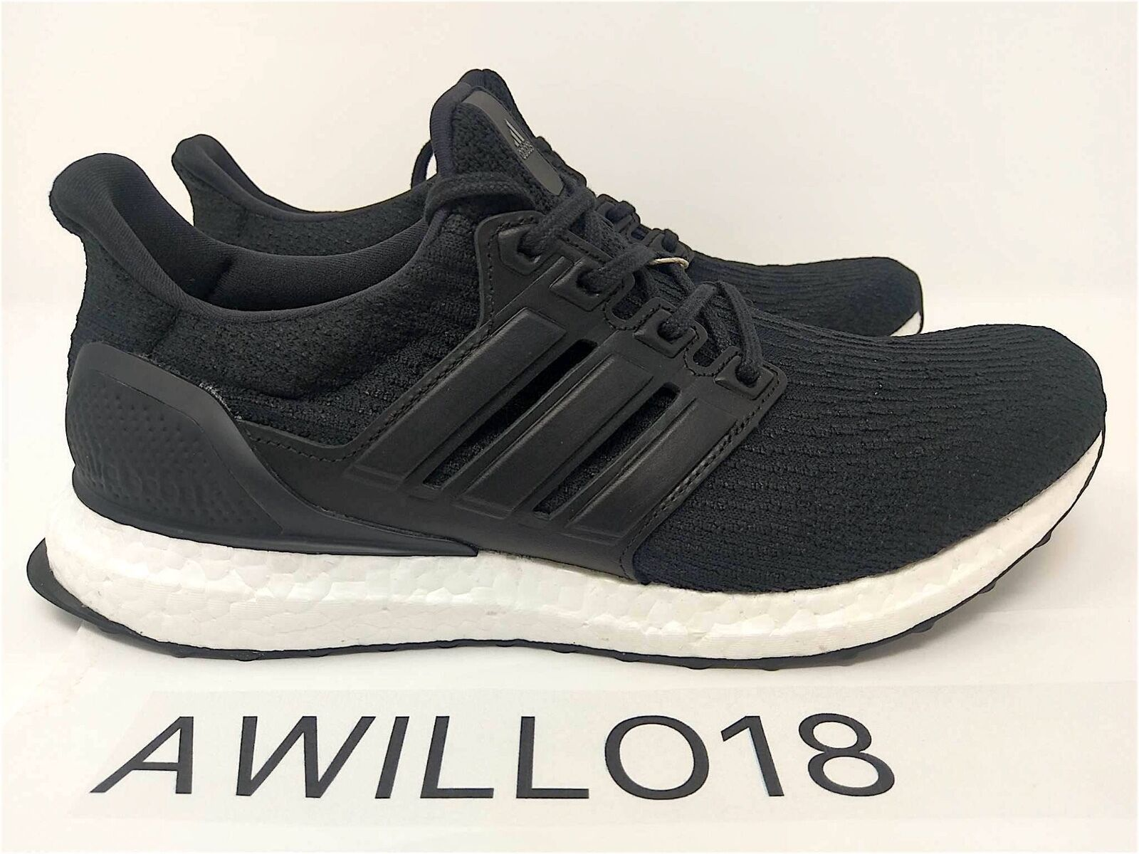 Adidas UltraBoost LTD Black Leather Luxury BA8924 US