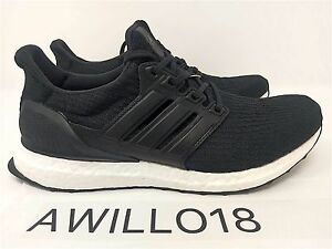 Details about Adidas UltraBoost LTD Black Leather Luxury UK 5 8 8.5 9 11.5 12 US Ultra Boost