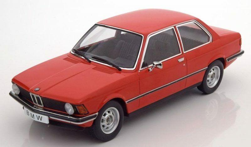 Bmw 318i E21 1975 rouge 1 18 Model KK SCALE