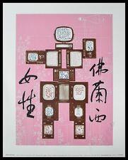 Nam June Paik Evolution Revolution Resolution Kunstdruck Bild & Rahmen 30x24cm