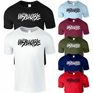 Details about Unspeakable Mens Kids T-Shirt Gamer Youtuber Vlogger New Year  Gift Xmas T Shirt