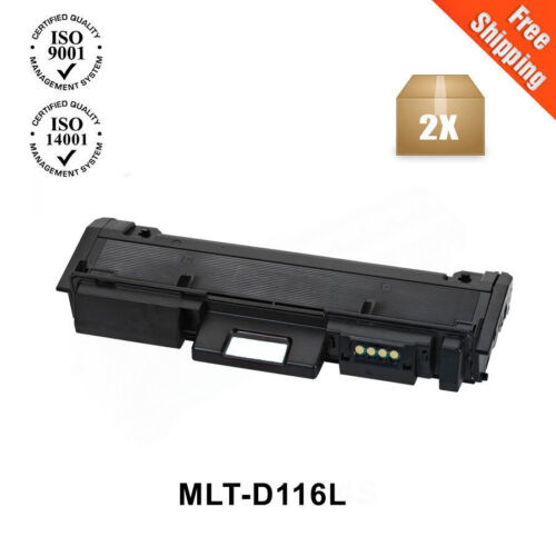2PK MLT-D116L Toner Cartridge For SAMSUNG SL-M2835DW SL-M2885FW SL-M2625D