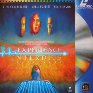 EXPERIENCE-INTERDITE-L-039-VF-PAL-LASERDISC-Kiefer-Sutherland-Kevin-Bacon