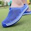 thumbnail 5 - Mens Womens Slip On Slippers Hollow Beach Sandals Clogs Garden Flat Shoes Casual