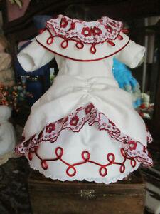 Robe-pour-poupee-ancienne-jumeau-steiner-sfbj-porcelaine-dress-antique-doll