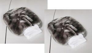 Zwei-superweiche-Auto-Wasch-Reinigungs-Handschuh-2-x-HR-RICHTER-Waschhandschuh