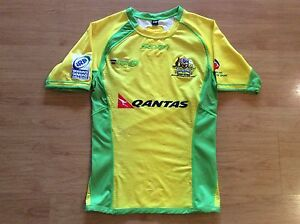 Australia Womens 2012 13 Irb Rugby Sevens Player Issued Shirt Jersey