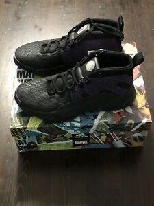 marvel-x-adidas-dame-5-black-panther-Black-Purple-GS-mens-Sz-6-Basketball