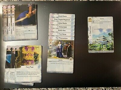 Legend of the Five Rings The Card Game Crane Clan Elemental Cycle L5R LCG
