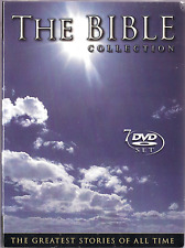 THE BIBLE COLLECTION: GREATEST STORIES OF ALL TIME, DVD, 7 Disc Set, New Sealed