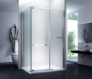 duschkabine dusche sara milchglas 120 x 90 x200cm 8mm mit duschtasse und siphon ebay. Black Bedroom Furniture Sets. Home Design Ideas