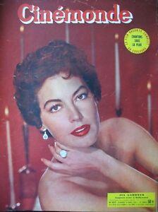 Cinema-Ava-Gardner-Harry-Baur-Fernandel-Gene-Kelly-N-977-Kodak-1953