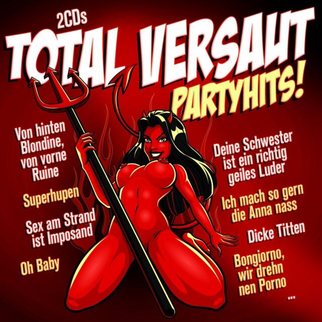 CD Total Versaut Partyhits! von Diverse Interpreten 2CDs