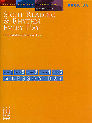 Book 3A Learn to Play Piano Music Book Sight Reading And Rhythm Every Day
