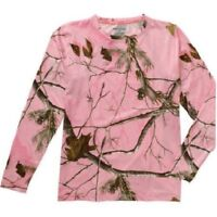 Realtree Pink Camo Thermal Crew Neck Top, Xl (41-43 Bust)