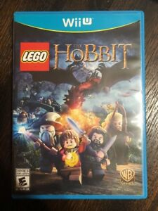 Lego-The-Hobbit-Nintendo-Wii-U-Complete-W-box-amp-Manual