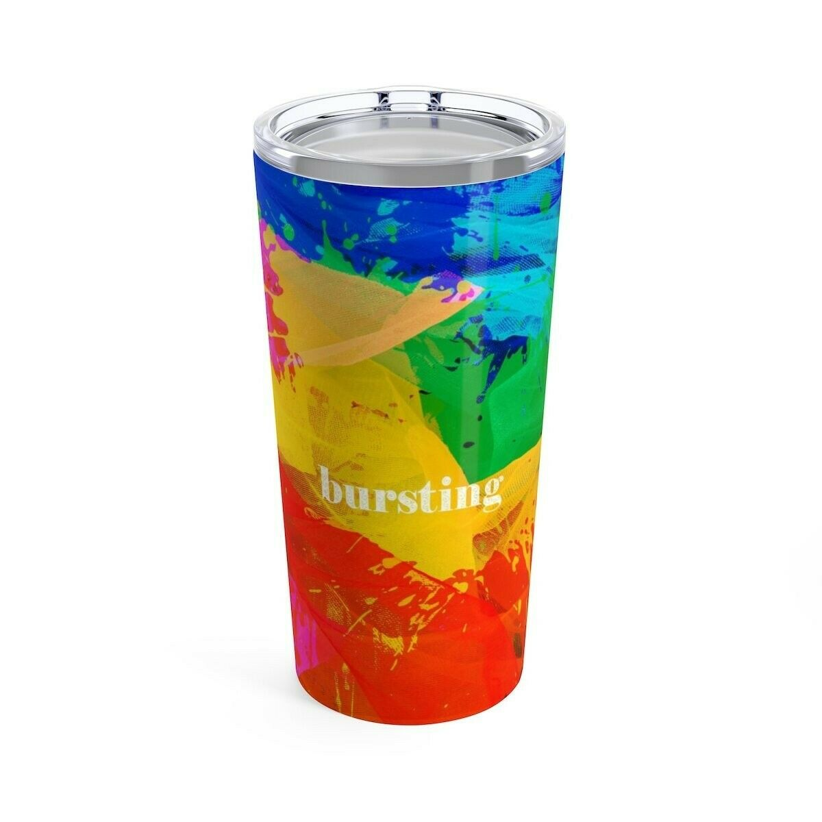 Busting Painting Tumbler 20oz - Stainless Steel