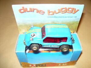 Alerte Policar A53 Dune Buggy Azzurro Automodello Slot Car Pista Elettrica Scala 1/32 Divers Styles