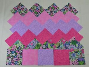 LILAC /& MINT GREEN FROUPING  4 Inch Quilt Squares