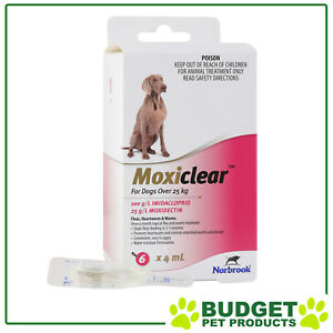 Moxiclear-Flea-amp-Worm-Treatment-For-Dogs-Over-25kg-6-Pack