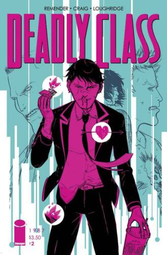 Deadly Class #2 Image Comic 1st Print 2014 unread NM Wesley Craig Cover
