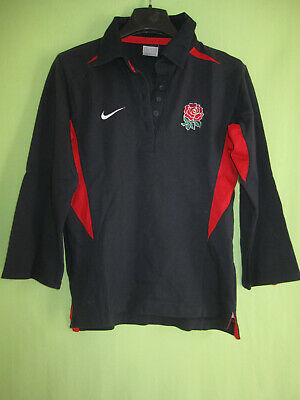 Maillot Rugby Angleterre Nike jersey England Vintage coton Femme L | eBay