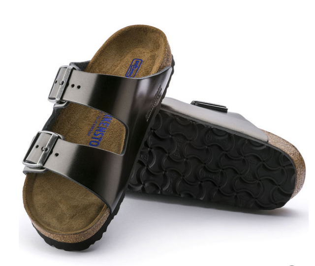 Leather Sandal Men's PNG Image | Leather birkenstocks