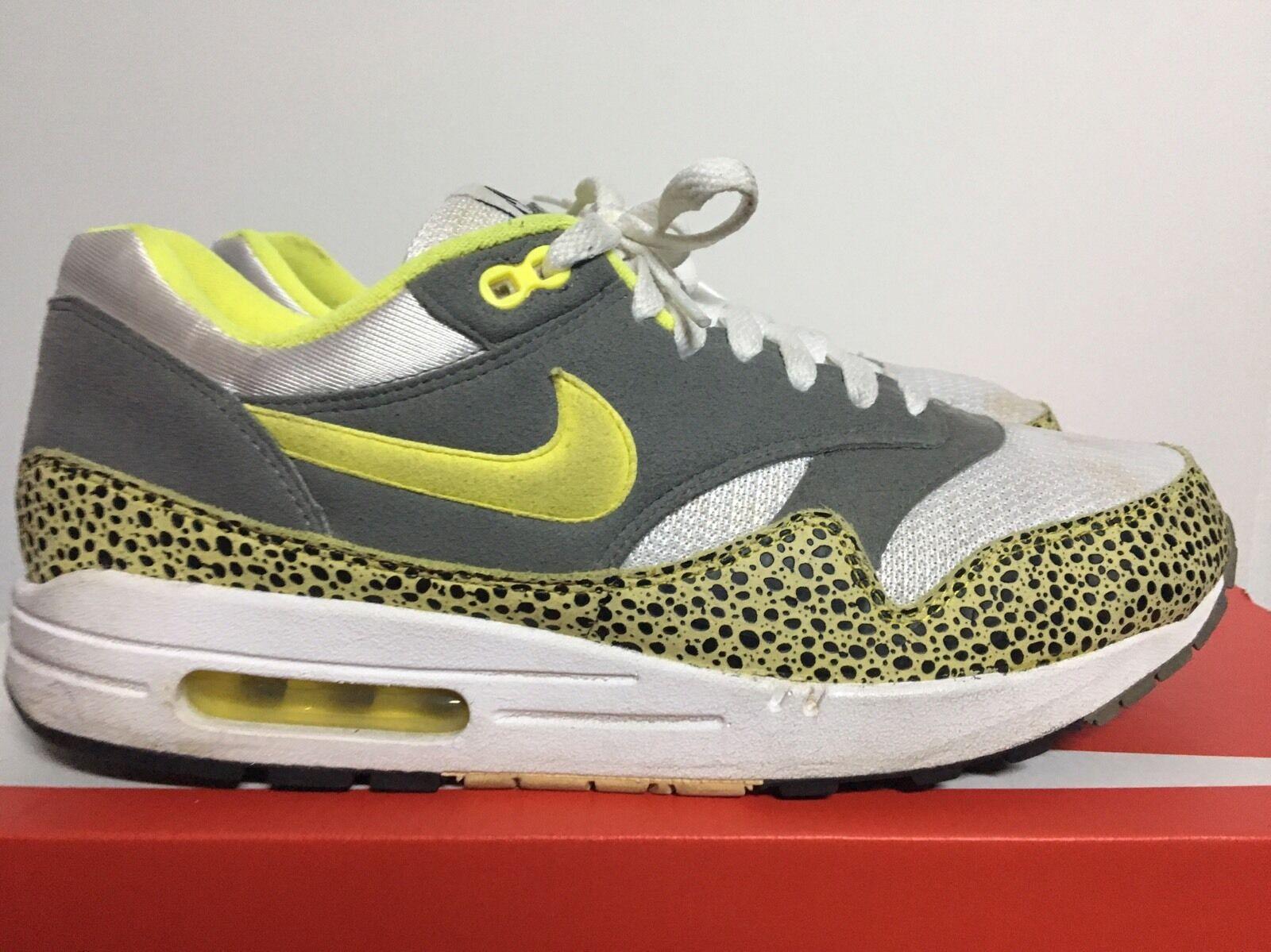 Nike Air Max 1 US 10,5 Off White Atmos Animal Jordan Kith Boost Patta NMD 97