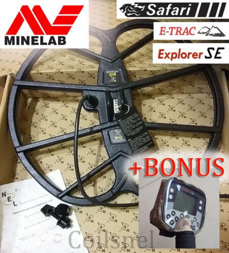 """NEL BIG 15/""""x17/"""" DD coil Minelab E-Trac//Explorer SE PRO//II//XS//S,Safari,Quattro MP"""