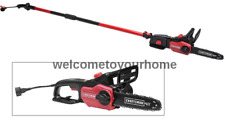 """Craftsman 10"""" 9 Amp Electric Corded Telescoping 2 in 1 Chainsaw and Pole Saw"""