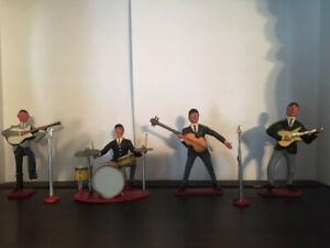 Beatles Cake toppers 1960 Vintage, Complete Band Set | eBay