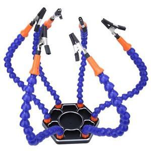6-Bracci-di-saldatura-flessibili-Supporto-per-PCB-di-terza-mano-Strumento-aiuto