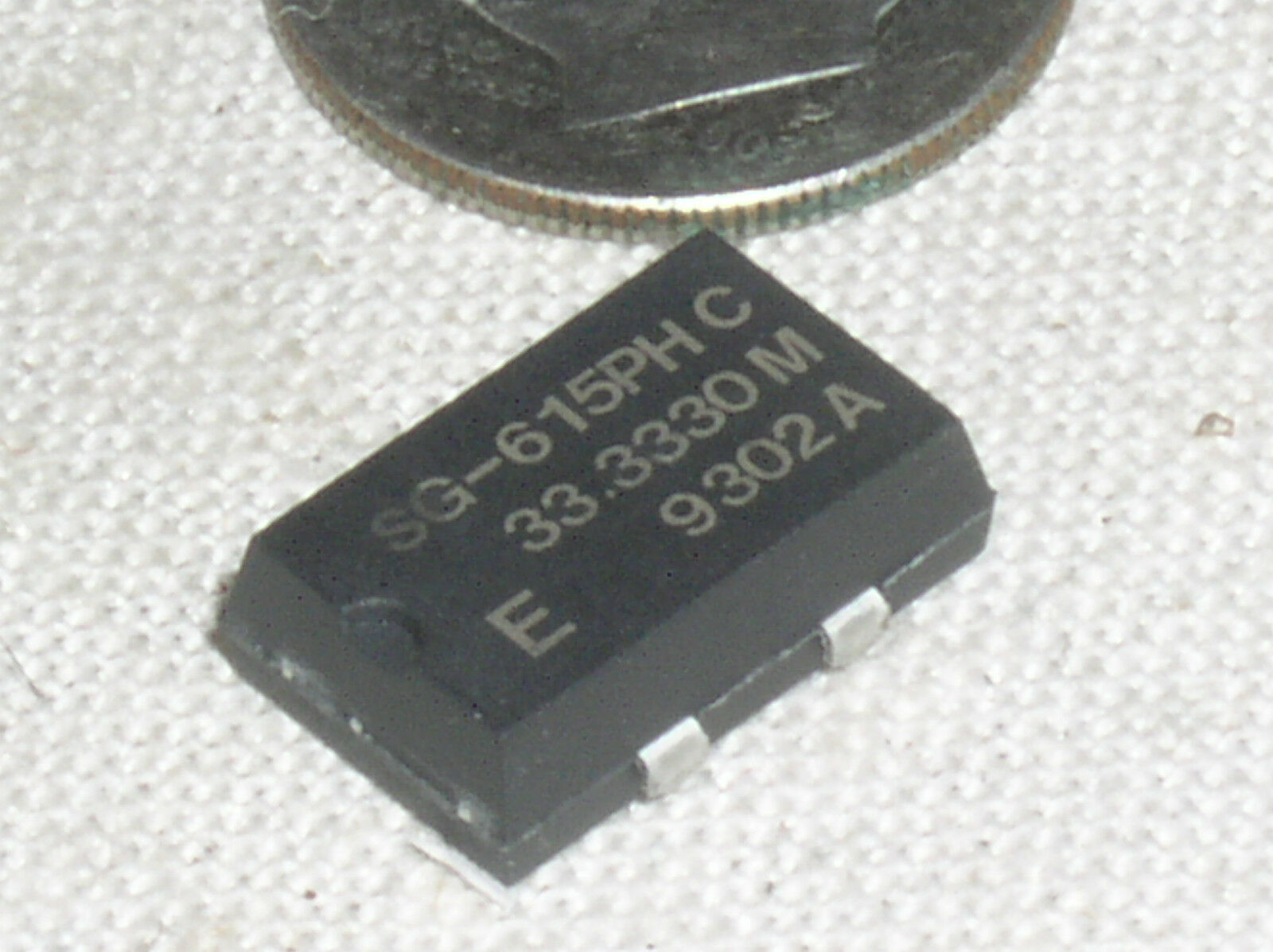 SMD LOT of 10PCS SEIKO SG-615P 1.544MHZ C CRYSTAL OSC 1.544MHz HCMOS