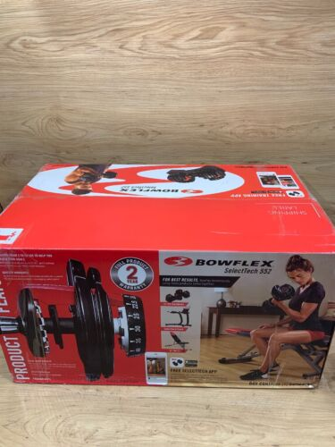 Brand NEW Bowflex SelectTech 552 Adjustable Single Dumbbell