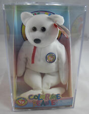 4d6bfd1330a MWMT 2002 Ty Color Me Beanie Babies Official Club Bear 6 Markers ...