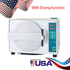 18l Dental Autoclave Steam Sterilizer Withdrying Function Medical Sterilizition Us