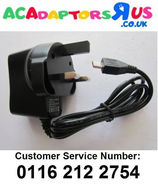 5V 1A UK Mains AC-DC Switching Adaptor Power Supply Charger for FITBIT Fit Bit