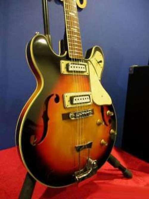 ARIA DIAMOND 1202T Sunburst 1967 Rare VINTAGE Electric Guitar JAPAN F S